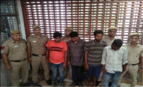 शालीमार बागः 18 किलो सोना और 5 लाख नकद की बड़ी लूट को पुलिस ने किया नकाम