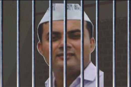 सदर विधानसभाः AAP विधायक सोमदत्त को 6 महीने की जेल, भेजे गए तिहाड़